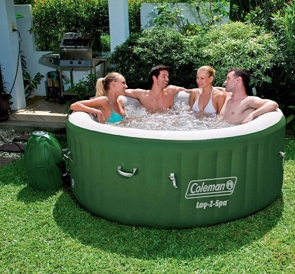 best inflatable hot tub 2018
