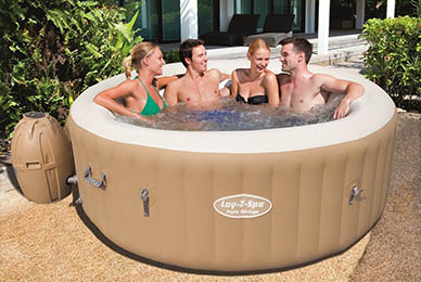 best inflatable hot tub 2019