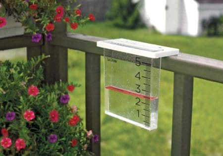 digital rain gauge with app