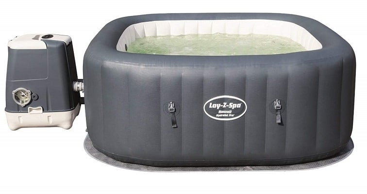 hard sided portable hot tub