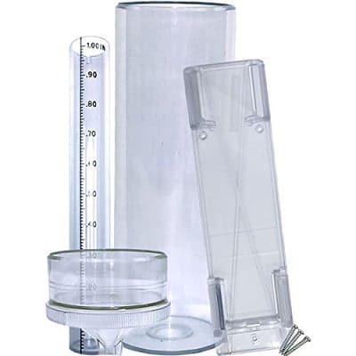 stratus rg202 long term professional rain and snow gauge