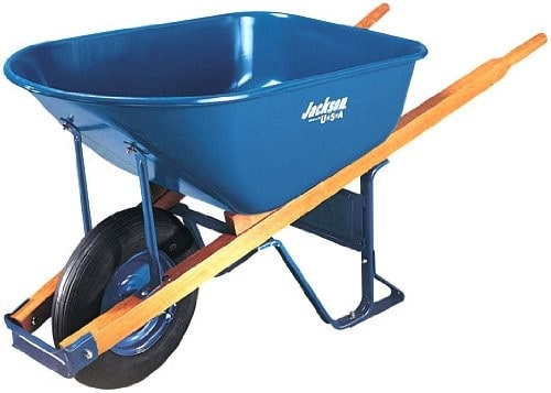 1 wheel wheelbarrow