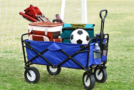 collapsible folding outdoor wagon