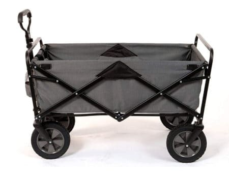 collapsible wheelbarrow