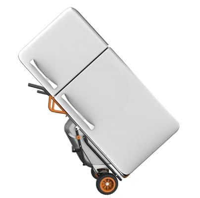 dual wheel wheelbarrow