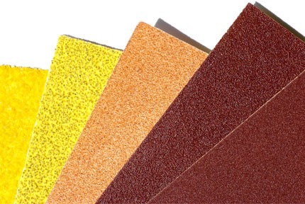 sandpaper grit sizes